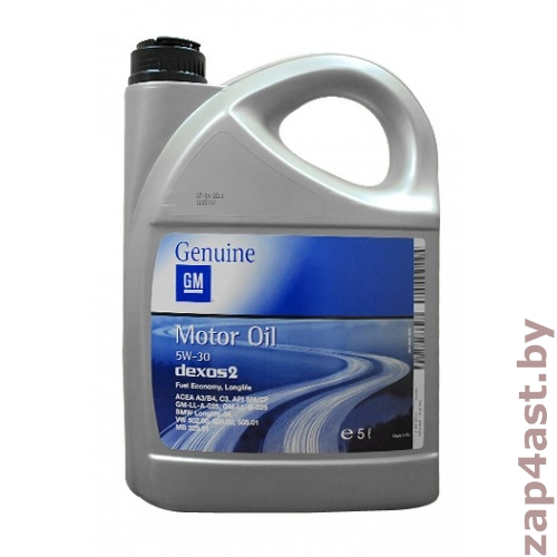 General Motors Dexos2 Longlife 5W-30 5 л
